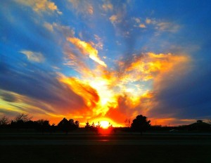 Wichita Kansas Sunset