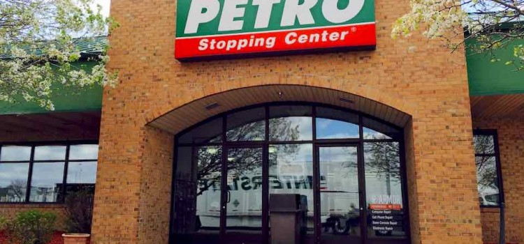 Petro Stopping Center in Rochelle, Illinois Review